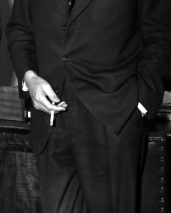 L43820 Suit and cigarette