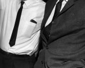 L45129 two men's ties