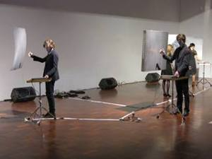 Theremin Performance, ANU School of Art, Charles Martin and Ensemble