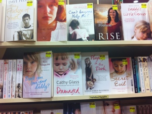 Shot in a Canberra book shop, a new sub genre: child abuse victim testimony packaged for the sentimental consumption of sympathetic readers