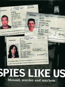 A newspaper report from 25 February, 2010 on the Israeli theft of Nicole McCabe's identity