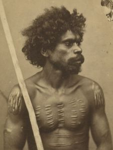 Thomas Bevan, Queensland aboriginal person, 1860s