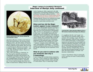 Magic Lantern Society News, October 2014