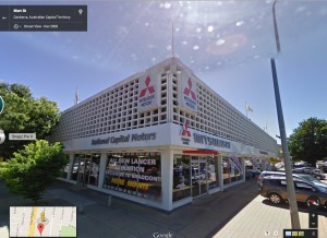 National Capital Motors from Google Street View