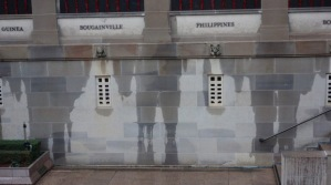 Ghosts of Gallipoli formed on the wall of the Australian War memorial, Sun Herald, 2 August 2015
