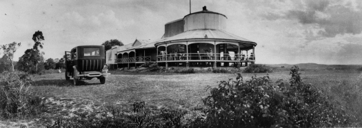 View of the Observatory restaurant at Camp Hill Brisbane, 1924