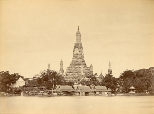 Francis Chit, 'Wat Arun', 1865