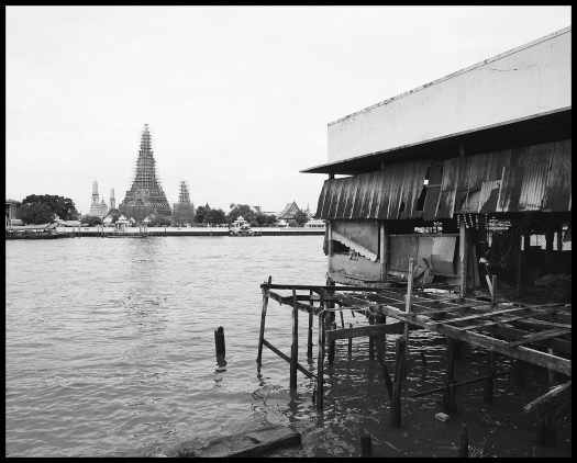 Gun Susangkarakan, 'Wat Arun from Tha Tian', 2015