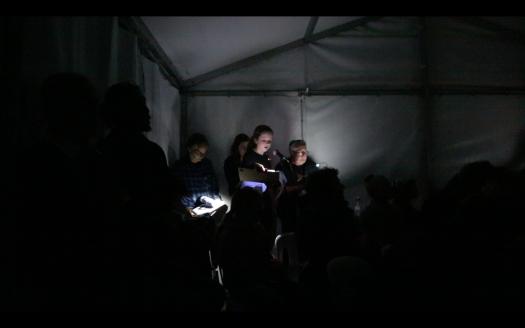 Tragic Drowning Fatality, Siteworks 2016, Bundanon, Martyn Jolly and Alexander Hunter